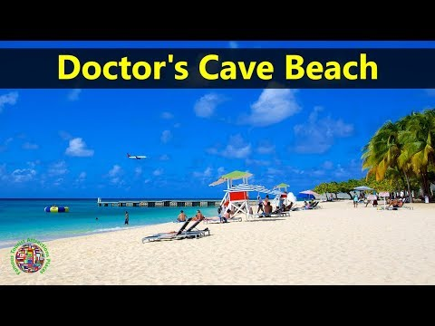 Best Tourist Attractions Places To Travel In Jamaica | Doctor's Cave Beach Club Destination Spot
