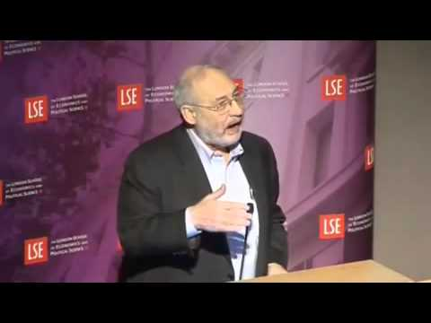 Stiglitz - the failures of Economics @  London School of Economics 1.flv