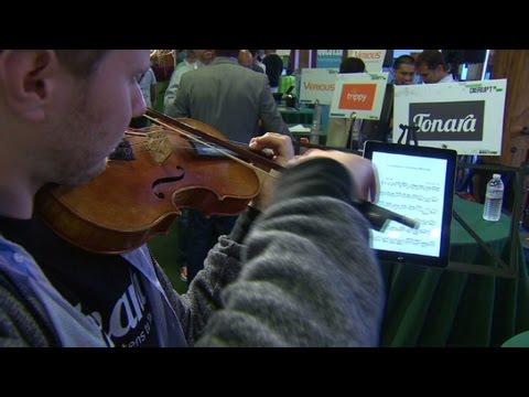 Sheet music, meet iPad