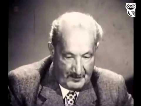 Martin Heidegger - su linguaggio e Poetica