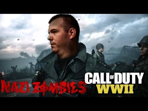 Call Of Duty WW2 Live - Lets Start With Zombies - Cant Wait