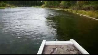 Лодка ПНД, ''Струйка'', 8 метров, р. Лена