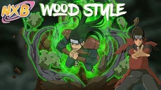 WOOD STYLE KEKKEI GENKAI SHOWCASE | NxB | Naruto RPG: Beyond | ROBLOX