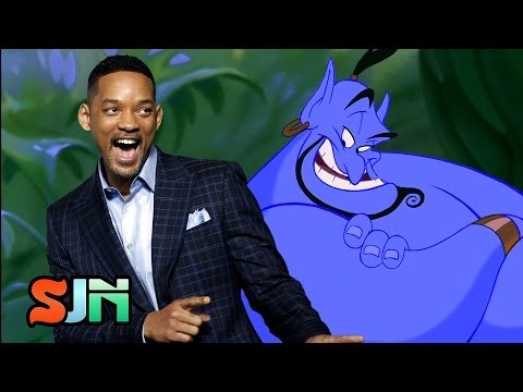 Will Smith To Play The Genie In Aladdin Remake?!