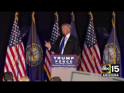 FULL EVENT: Donald Trump and Dr. Ben Carson in New Hampshire today!