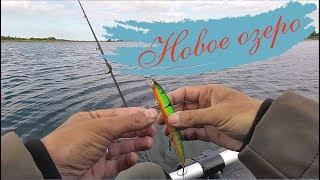 Рыбалка на щуку в июле 2018. Новое озеро