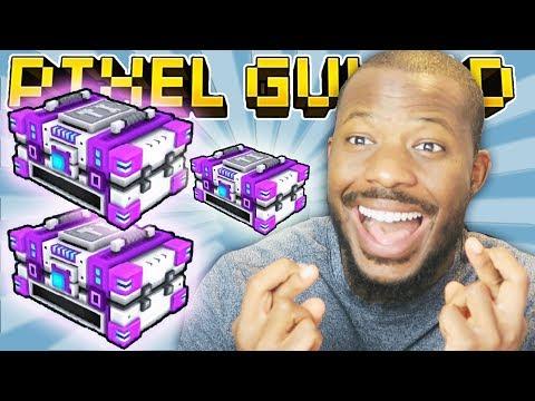 MYTHICAL MODULE CHEST OPENING! | Pixel Gun 3D