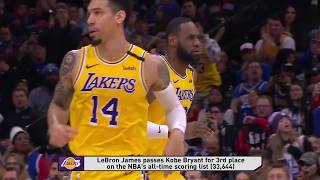 Philadelphia 76ers vs Los Angeles Lakers | January 25, 2020