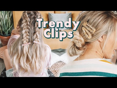 [VIDEO] - How to Wear Trendy Hair Clips - KayleyMelissa 8