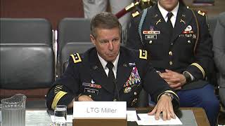 Ernst Questions Nominee Lieutenant General Austin Miller in Senate Armed Services Committee Hearing