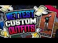 WETTEST CUSTOM OUTFITS + SHOES IN NBA 2K18!!💦 CLEANEST IN THE PLAYGROUND! PT  1 96 OVR mp3
