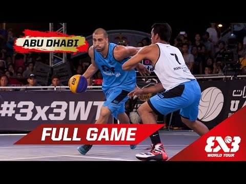 Novi Sad Alwahda vs Manila North - QF Full Game - Abu Dhabi - 2015 FIBA 3x3 World Tour Final