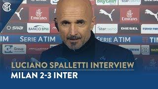 MILAN 2-3 INTER | LUCIANO SPALLETTI INTERVIEW: