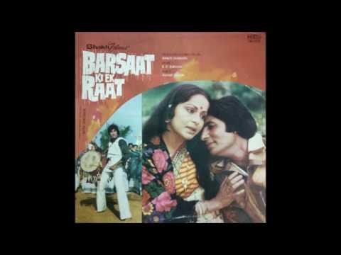 Lata Mangeshkar_Nadiya Kinare (Barsaat Ki Ek Raat; R.D. Burman, Anand Bakshi; 1980)