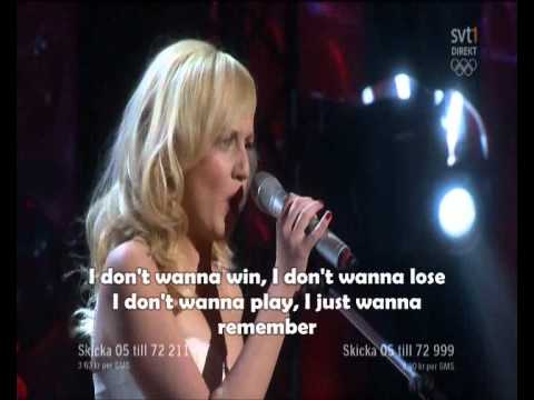 Anna Bergendahl - This Is My Life karaoke
