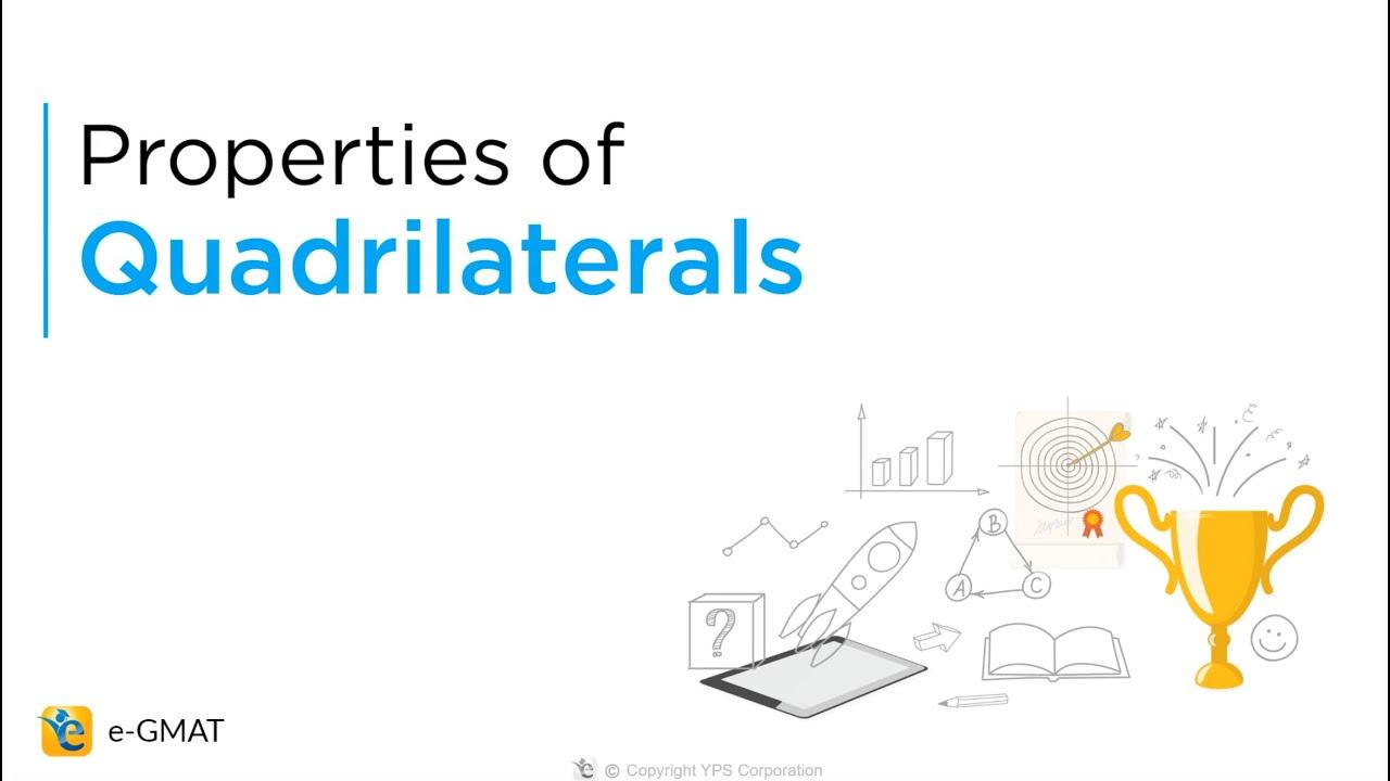 medium resolution of The 6 Quadrilaterals   Properties   Area   Perimeter