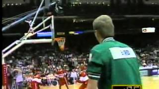 Historic Three Point Shootout Larry Bird vs Dale Ellis