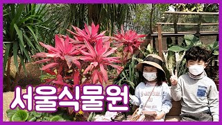 [아람건우] 아이와 함께하기 좋은 서울식물원