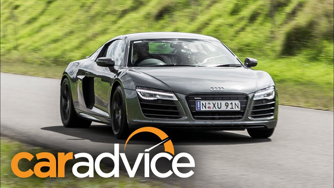 2015 Audi R8 V10 Plus Review : Track Test - YouTube