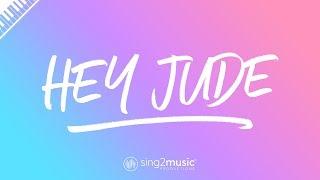 Hey Jude (Piano Karaoke) The Beatles
