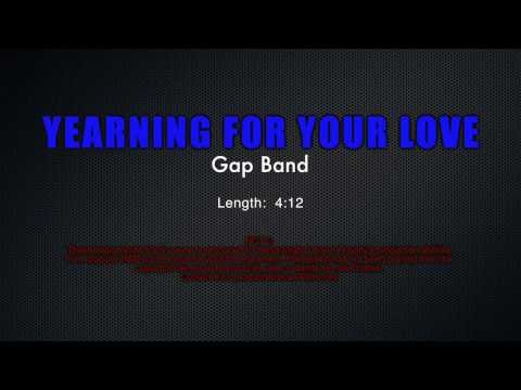 Demonstration Track #4 - Yearning For Your Love - The Gap Band