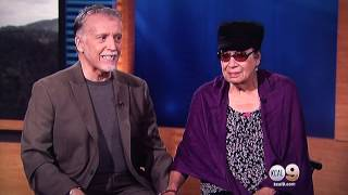Walter and Shelley on KCAL 9 News