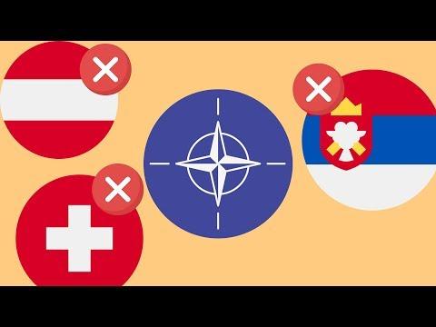 Почему не все страны Европы в НАТО ?