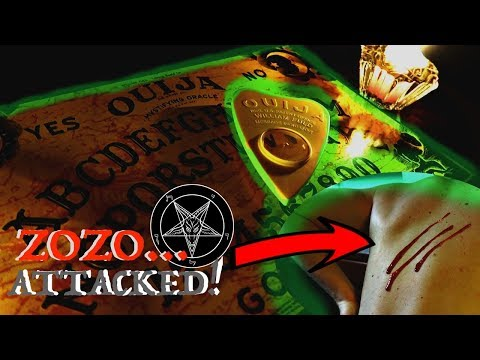 Ouija Board Challenge AT 3 AM ZOZO DEMON ATTACK GONE WRONG *Not Clickbait!*