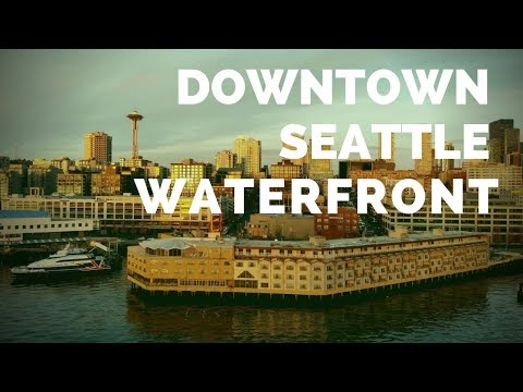 Downtown Seattle Waterfront [DRONE]