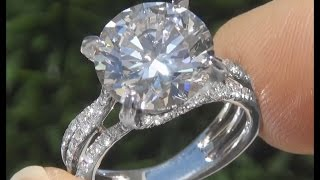 Certified Jewelry Sells Diamond Engagement Ring EGL Certified
