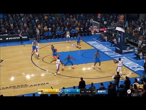 NBA LIVE 19 LA Lakers Vs OKC Thunder LIVE STREAM
