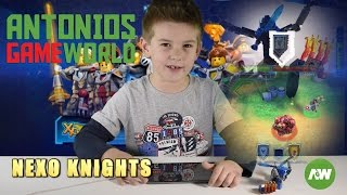 Lego Nexo Knights Powers MERLOK 2.0 app – Ultimate Clay: Sword Tornado, Lava Dragon & Force Field