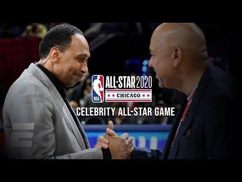 2020 NBA Celebrity All-Star Game Highlights: Team Stephen A. Smith Vs. Team Michael Wilbon