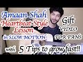 heartbeat style guitar lesson by amaan shah 5 super tips to grow fast on youtube hindi