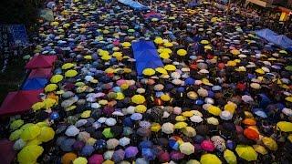 Biểu tình Hong Kong đánh dấu tròn tháng
