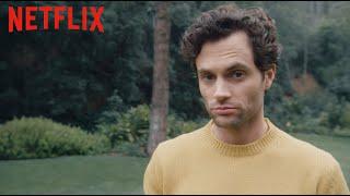 Der Cast von YOU erschreckt Victoria Pedretti | YOU | Netflix