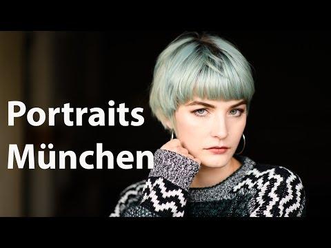 München Portrait Workshop Blitz und Tageslicht
