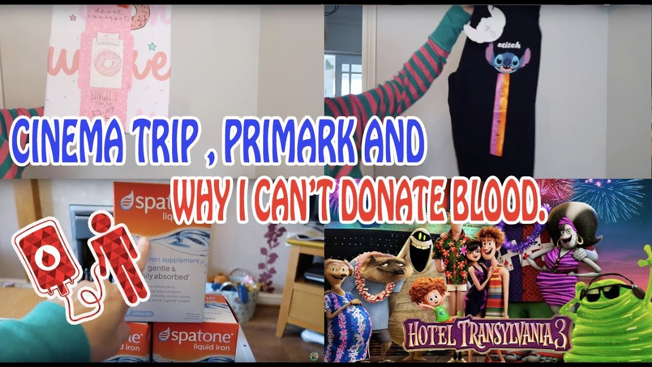 Cinema Trip Primark And Why I Cant Donate Blood Vlog 324 Youtube Spatone Liquid Iron 14 Day Pack