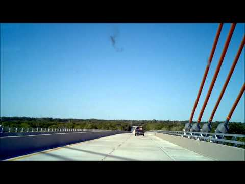 Driving across the newly opened Audubon Bridge between St. Francisville and New Roads, LA 5/15/2011