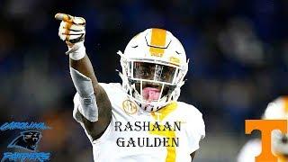 II Rashaan Gaulden 2017 Highlights II Carolina Panthers 3rd Round Selection