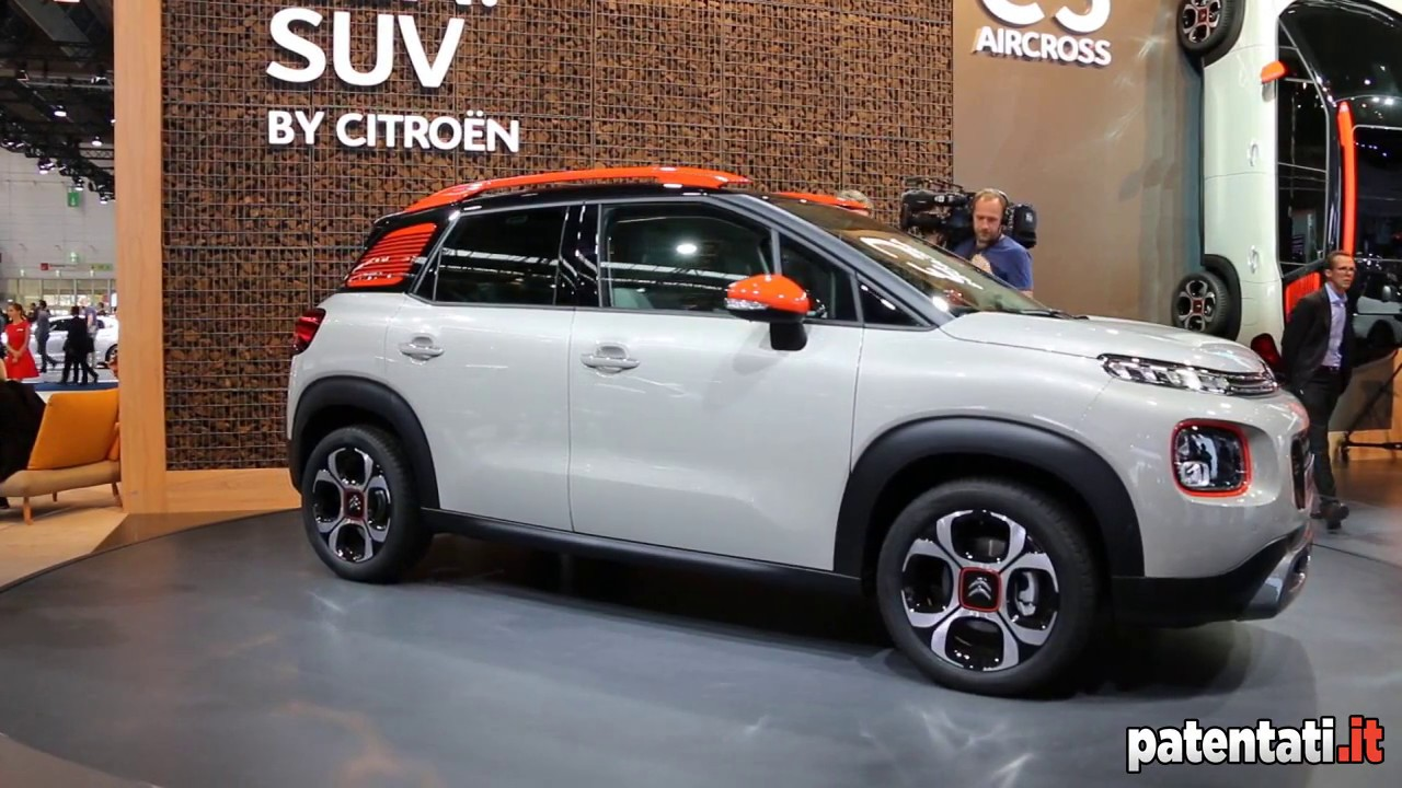 citroen c3 aircross prezzi info e motori del nuovo suv youtube. Black Bedroom Furniture Sets. Home Design Ideas