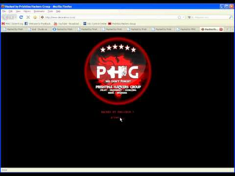 Serbia Websites Hacked by PHG