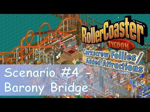 RollerCoaster Tycoon || Park Playthrough: Barony Bridge || Pier-style amusement park! |