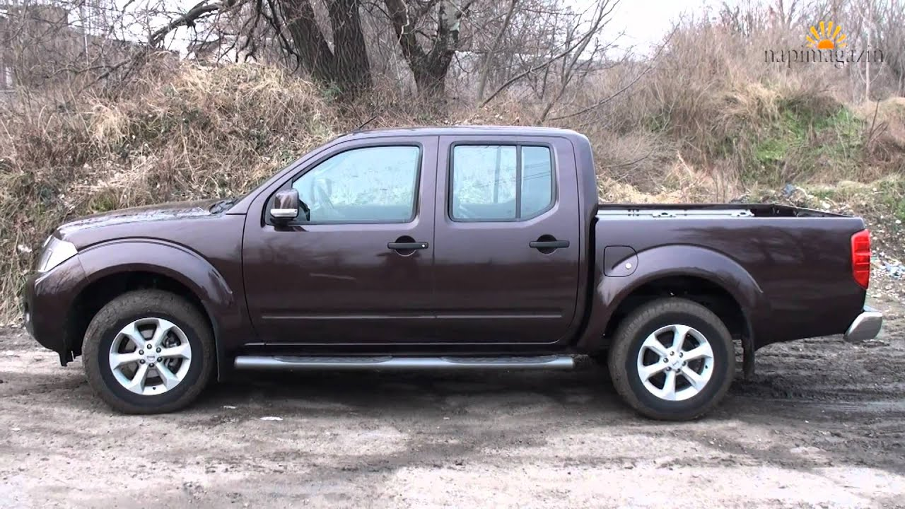 teszt nissan navara d40 2 5d double cab a m retes pickup youtube. Black Bedroom Furniture Sets. Home Design Ideas