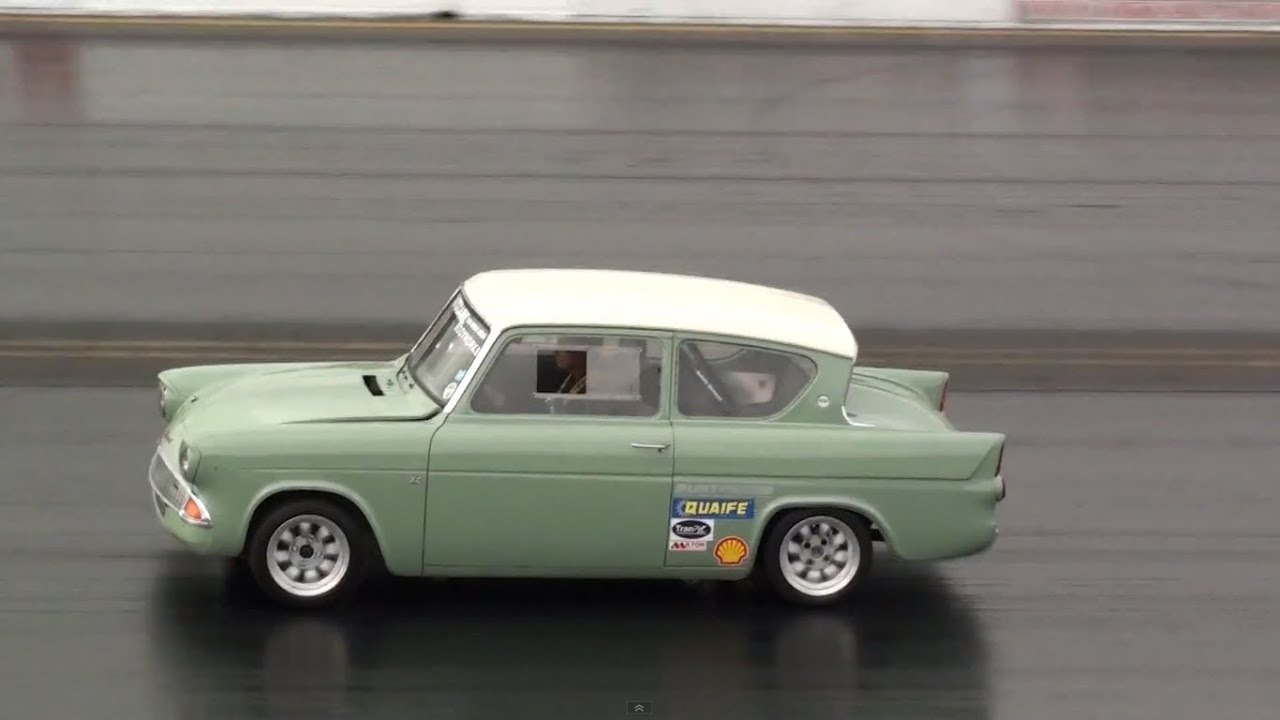 & Ford Anglia 105e vs VW Polo Drag Car - Drag Race - YouTube markmcfarlin.com