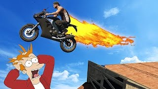 MY BIKE IS THE FASTEST !! ( GTA 5 Funny Moments )