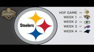 Pittsburgh Steelers 2015: Preseason Schedule