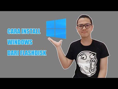 Tutorial Install Windows 10 Pake Flashdisk TERBARU 2020.