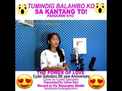 Download The power of love(cover by CYDEL GABUTERO)