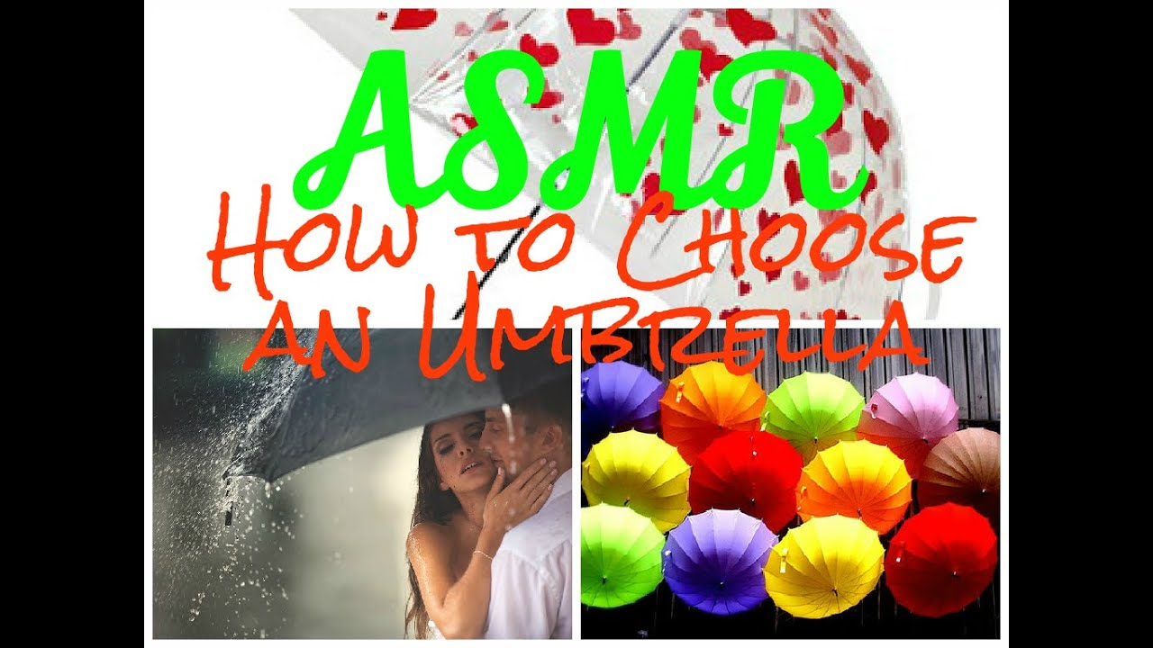 ASMR How to Choose an Umbrella (whisper)